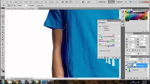 how to change the colour of a t shirt adobe photoshop cs5 hd