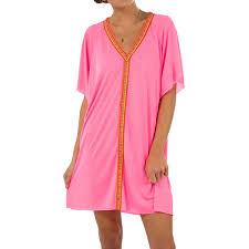 50 off pitusa mini abaya tunic cover up pink pro35sports com