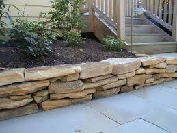 Rock Patio Designs by Naturescapes Landscaping Portfolio Gallery