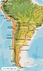 Brazil On South America Map by The Southern Cone South America Map Of South America Southwind