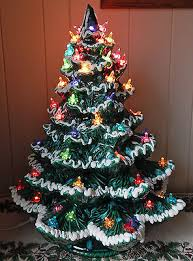 ceramic christmas trees collection on ebay