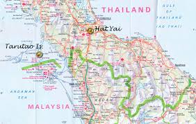 Map Of Thailand Mark O U0027shea The Official Website