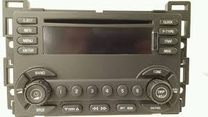15806594 chevy malibu 2004 2008 cd xm ready radio 15793369 new