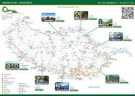 Cable Car Map Madeira Walking Visit Madeira Island Nature Around You