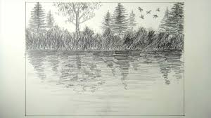 landscape drawing in pencil for beginners sketches landscape