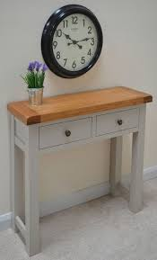 Oak Console Table With Drawers 18 Best Console Tables Images On Pinterest Console Tables
