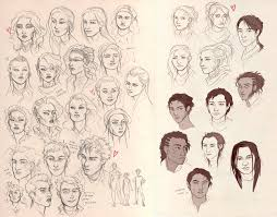 adra and co sketches by liberlibelula on deviantart