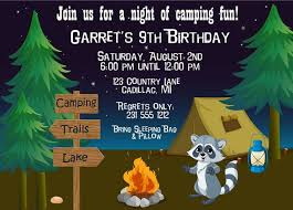 35 best birthday images on pinterest camping parties birthday