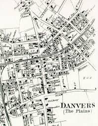 Salem Massachusetts Map by Danvers Archival Center