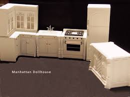 Dollhouse Furniture Kitchen Bespaq Julia White Kitchen 6 Piece Set 320 00 Manhattan