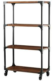 Rustic Book Shelves by Industrial Empire Bookcase 330 62 75