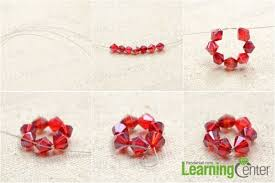 diy beaded flower bracelet images Picture of colorful diy beaded flower charm bracelet 2 jpg