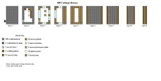 floor plans for minecraft houses this is the latest version of my small inn design made for use in