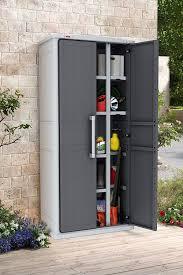 aufbewahrungsschrank küche keter aufbewahrungsschrank optima cabinet grau