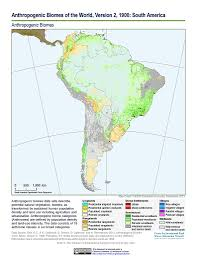 Maps South America by Map Gallery Sedac