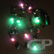 led christmas lights mini led christmas light necklaces glow necklace