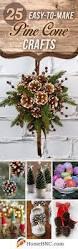 Christmas Handmade Decorating Ideas Pine Cone Decorating Ideas Christmas Season Stirring Decorations For