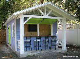 Backyard Shed Ideas Backyard Bar Shed Gardening Design