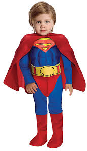 3 month old halloween costumes amazon com super dc heroes deluxe muscle chest superman costume