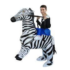 Inflatable Costume Halloween Style Zebra Inflatable Costume Halloween Cosplay Party Dress