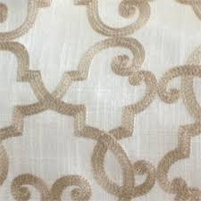 embroidered home decor fabric all tied up toffee embroidered home decorating fabric our price