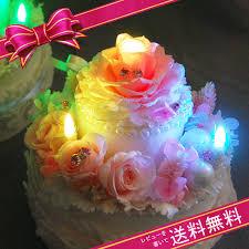 flower k rakuten global market preserved flower cake 2 stage