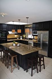 kitchen cabinets small l shaped kitchen with wall oven combined
