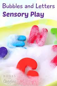 bubbles u0026 letters sensory play tips u0026 tricks