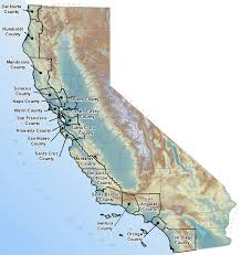 map of california counties inundation maps tsunami inundation map