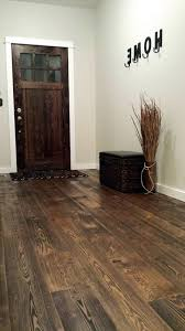 wire brushed hardwood spaces rustic with sustainable flooring