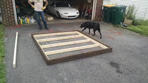 Diy Floating Bed Frame Diy Floating Bedframe With Leds U2013 Diy Already