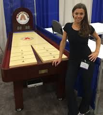 shuffleboard game tables on sale for family game rooms