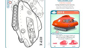 octonauts gup gup gup octonauts colouring pages