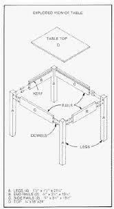 Free Woodworking Plans by Free Woodworking Plan Building A Wood Table Free Step By Step