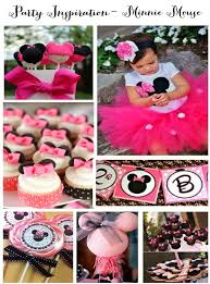 minnie mouse 1st birthday party ideas 34 creative girl birthday party themes ideas my