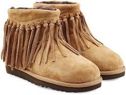 ugg boots australia ugg australia wynona fringe sheepskin boots where to buy how