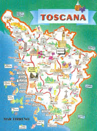 Lucca Italy Map by