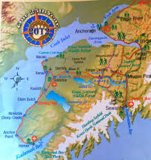 Homer Alaska Map by Bearfooting In The Kenai Peninsula The Lowe U0027s Rv Adventures