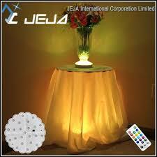 wholesale led under table lights led light base table decorations led light base table decorations
