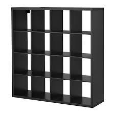 libreria kallax kallax scaffale marrone nero ikea
