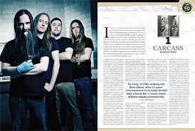 surgical steel band carcass surgical steel named album of the year by decibel