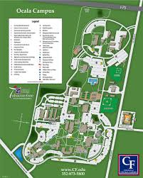Perry Florida Map by College Of Central Florida Ocala Campus Map