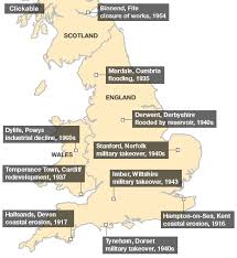 map uk villages the secrets of britain s abandoned villages news