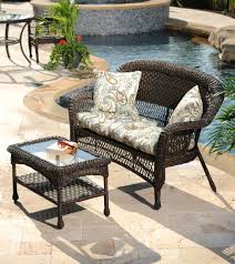 Rattan Settee Outdoor Living Creating A Backyard Retreat My Kirklands Blog