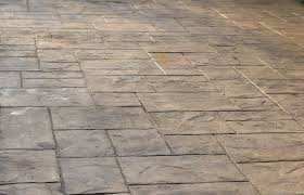 Seamless Stamped Concrete Pictures by Majestic Ashlar Slate Decorative Concrete Stamp By Marshalltown