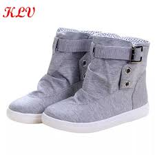 stylish womens motorcycle boots popular canvas boots buy cheap canvas boots lots from china canvas