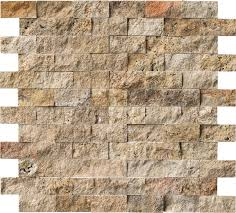 Split Face Stone Backsplash by Msi Tuscany Scabas 2