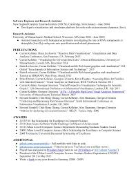 Resume For Computer Science Graduate Resume