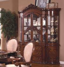China Cabinet Buffet Hutch by Mcferran Rd0017 Brown Storage Buffet Hutch China Cabinet