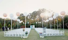 aisle markers diy large balloon aisle markers i do diys